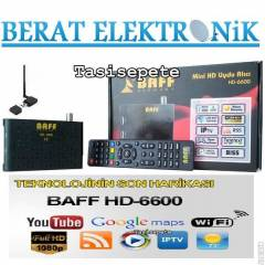 BAFF HD-6600 Full HD Mini  Uydu Al�c�s� 2 USB