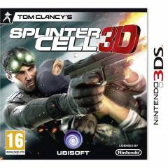 SPLINTER CELL 3D 3DS OYUNU SIFIR AMBALAJINDA