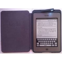 Amazon Kindle Touch Pembe Deri I��kl� K�l�f