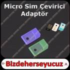 iPhone iPad Mikro Sim Kart Adapt�r� Plastik 2 ad