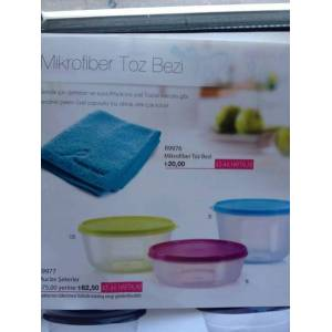 TUPPERWARE MUC�ZE �EKERLER RENKL� SET