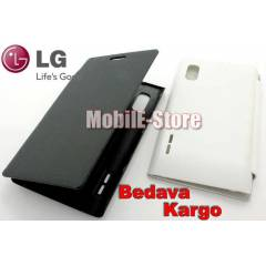 LG Optimus L5 E612 Slim Yan Flip Cover+3xSticker