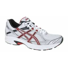 ASICS T1G2N 0121  PATRIOT 4 WHITE RED BLACK ASF
