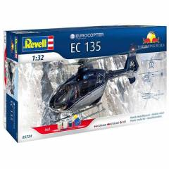Revell The Flying Bulls Ec135 1:32 �l�ek Helikop