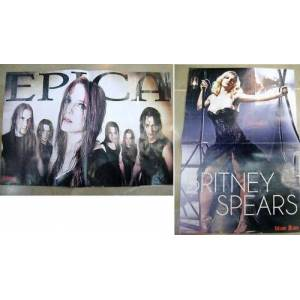 POSTER ~ EPICA & BRITNEY SPEARS