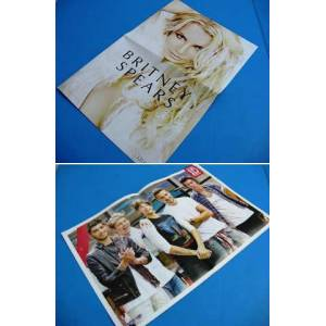 POSTER ~ BRITNEY SPEARS  & ONE DIRECTION