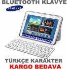 Samsung Galaxy Tablet Bluetooth Klavye %100 Orj.