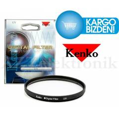 Nikon 18-55mm Lens i�in Koruyucu Uv Filtre Kenko