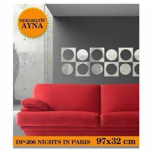 ART�KEL NIGHTS IN PARIS AYNA STICKER 97X32 CM