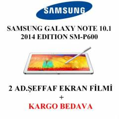 SAMSUNG GALAXY NOTE 10.1 2014 Edition EKRAN F�LM