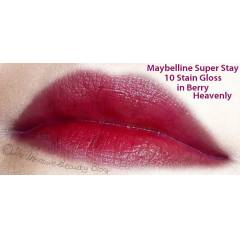 MAYBELLINE SUPER STAY 10 HR STAIN GLOSS *BERRY