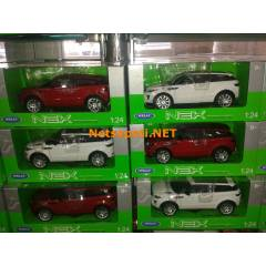Welly 1.24 Range Rover EVOQUE JEEP - 4 RENK