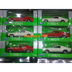 Welly 1.24 FORD MUSTANG GT Diecast Araba