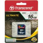 TRANSCEND ULTIMATE 16GB SD HAFIZA KARTI CLASS10