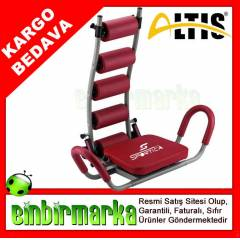 Sportica TC 500 Red Ab Rocket Twister Mekik Alet
