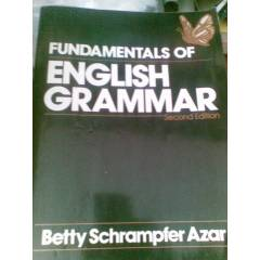 FUNDAMENTALS OF ENGLISH GRAMMAR AZAR/1992