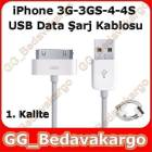 iPhone 3G 3GS 4G 4S Usb Data Ve �arj Kablosu