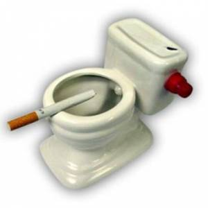 Toilet Ashtray - Klozet K�ll�k