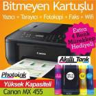 CANON MX 455 VE  B�TMEYEN KARTU� S�STEM� Patentl
