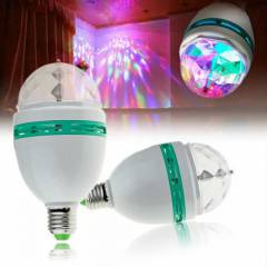 Crystal Magic Bulb - 360 Derece D�nen Lamba