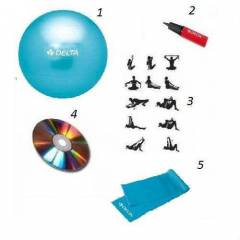 75 cm plates top+lastik +pompa+cd+program-