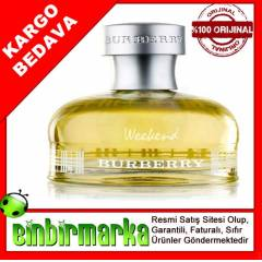 Burberry Weekend Edp 100ml Bayan Parf�m� Orjinal