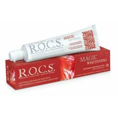 Rocs Magic White Ekstra Di� Macunu