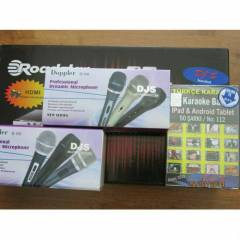 KARAOKE SET� + 2 ADET MIKROFON-BASIC SET.