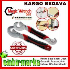 Mucizevi Heissman Magic Wrench Ak�ll� Pense Seti