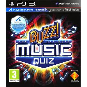 BUZZ THE ULTIMATE MUSIC QUIZ PS3 HD PAL SIFIR