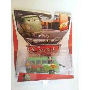 Disney Pixar Cars2 Race Team Fillmore With Heads