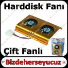 Harddisk Fan� - Harddisk So�utucu �ift Fanl�