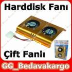 Harddisk So�utucu HDD FAN �ift Fanl�