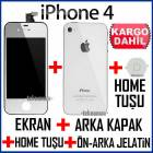 ORJ�NAL iPHONE 4 EKRAN+ArkaKapak+HomeTu�u+2JELTN