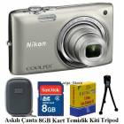 Nikon S2700 16MP HD 6X Dijital Foto�raf Makinas�