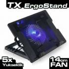 NOTEBOOK LAPTOP SO�UTUCUSU B�Y�K FAN A�ILI STAND