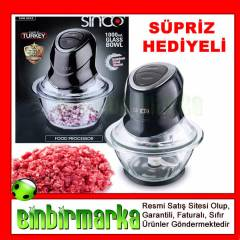 Sinbo SHB 3042 Cam Do�ray�c� Blender KARGOSUZ