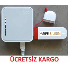 TP L�NK 3G ROUTER VE ACCESS PO�NT 150 MBPS