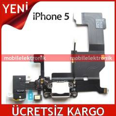 Apple iPhone 5 �arj,Kulakl�k,Mikrofon,Anten Film