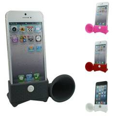 iphone 5 Do�al Ses Y�kseltici Horn Stand