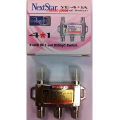NEXTSTAR 4X1 DISEQC SWITCH