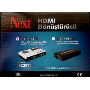 NEXT YE-312 HDMI D�N��T�R�C� VGA&COMPONT TO HDMI