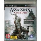 ASSASSINS CREED III 3 EXCLUSIVE EDITION PS3 PAL
