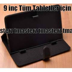 9 in� Tablet Pc Kapakl� Standl� K�l�f