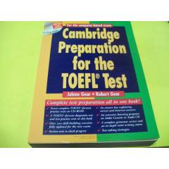 *CAMBRIDGE PREPARATION FOR THE TOEFL TEST