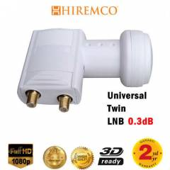 HIREMCO 0.3dB Twin - 2 ��k��l� LNB FULL HD