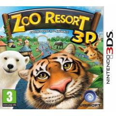 ZOO RESORT 3D 3DS OYUN SIFIR AMBALAJINDA