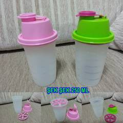 TUPPERWARE �EK �EK 250 ml Pembe ve Ye�il