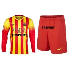 Barcelona 2014 Uzun Kollu FORMA ve �ORT Away