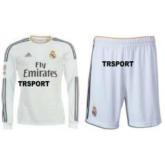 Real Madrid 2014 Uzun Kollu FORMA ve �ORT Home